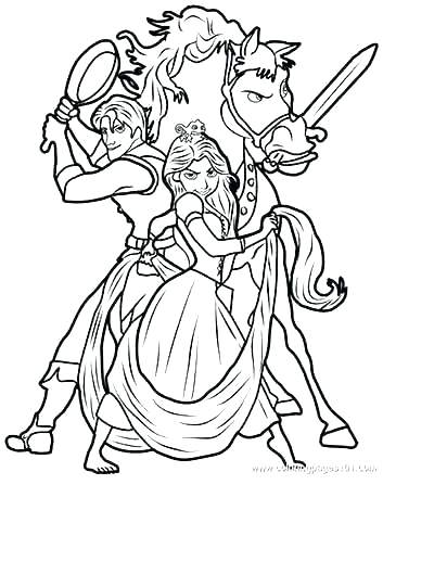 400x529 Rapunzel Coloring Page Princess Coloring Pages Tangled Coloring