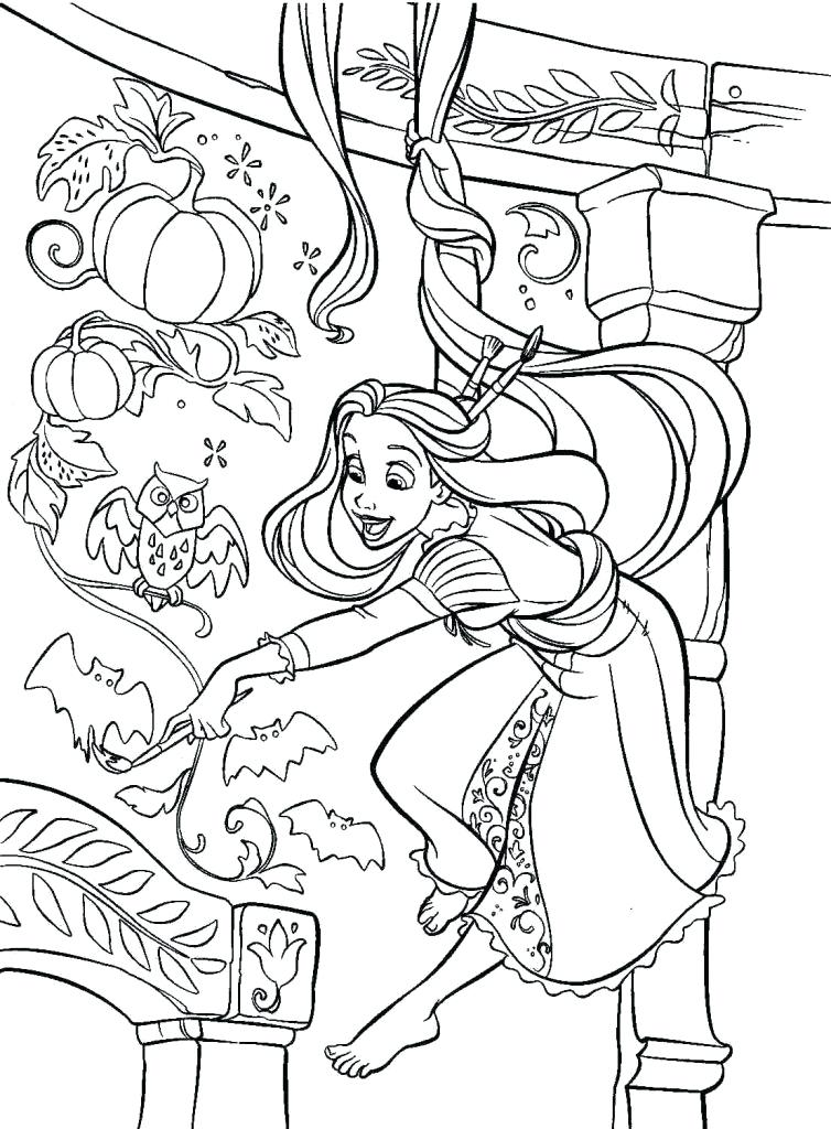 754x1024 Tangled Coloring Pages Coloring Book Tangled Pages Free Printable
