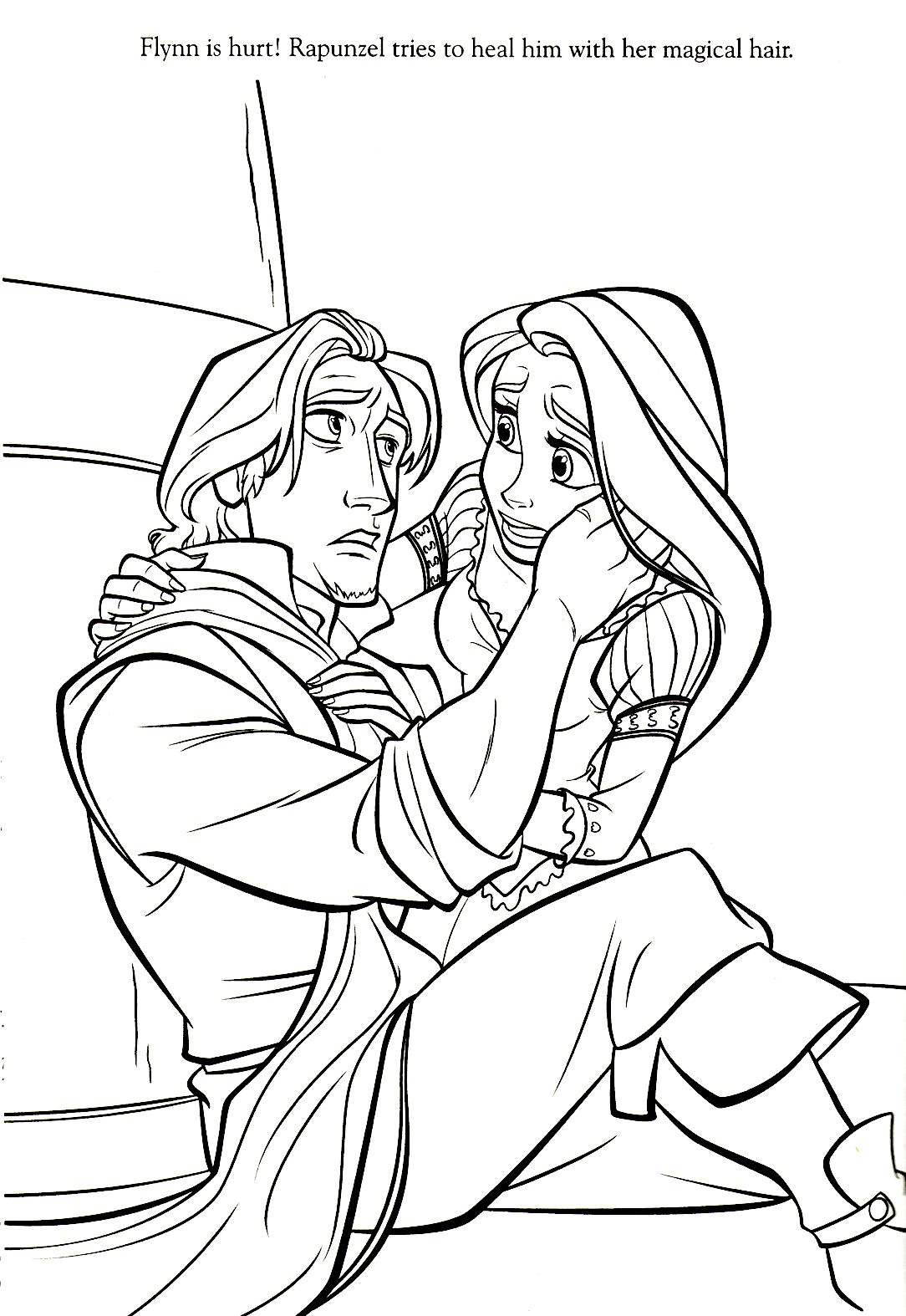 1084x1574 Disney Coloring Pages Printables Rapunzel, Tangled