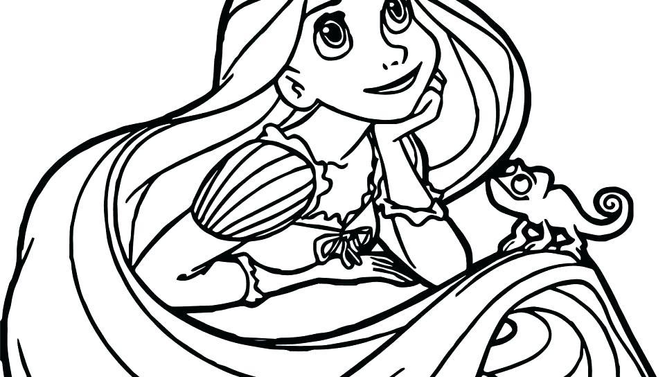 960x544 Disney Princess Tangled Coloring Pages Printable Page Won