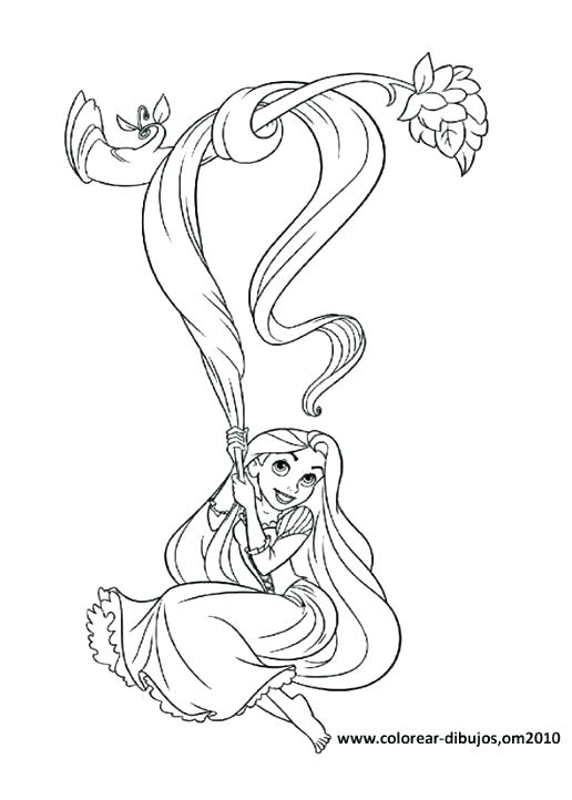 516x722 Tangled Color Pages Tangled Coloring Book And Tangled Coloring
