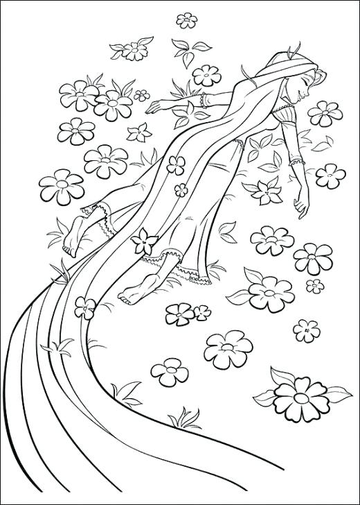 520x728 Tangled Coloring Page The Best Tangled Coloring Pages Tangled