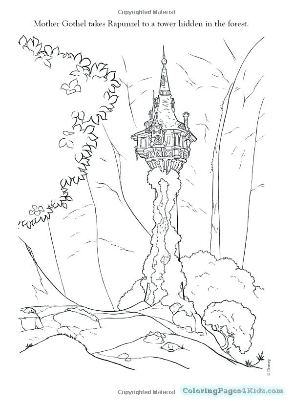 600x829 Tangled Coloring Pages With Pascal Tangled Coloring Pages Tangled