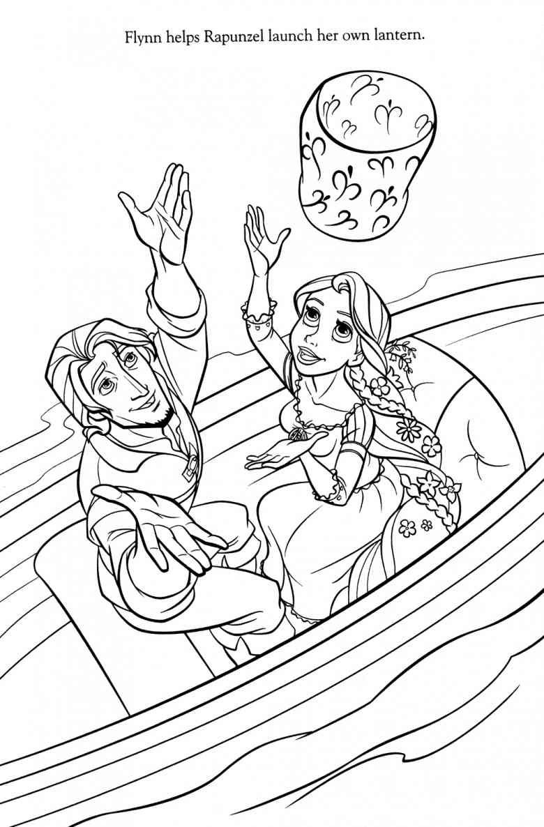 780x1186 Disney Tangled Coloring Pages Printable Rapunzel Amazing Pascal
