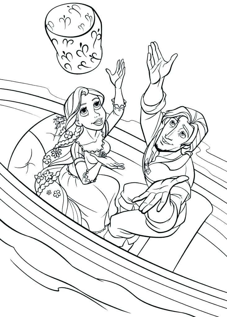 732x1024 Rapunzel And Flynn Coloring Pages Go Digital With Us