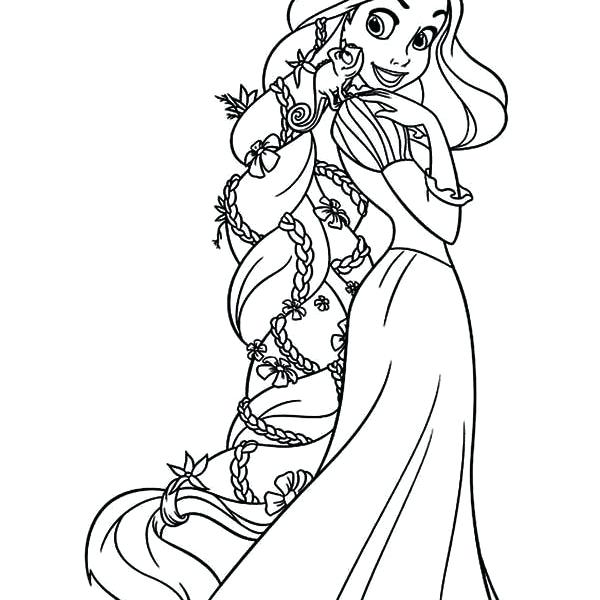 600x600 Rapunzel Color Pages Printable Coloring Pages Beautiful Tangled