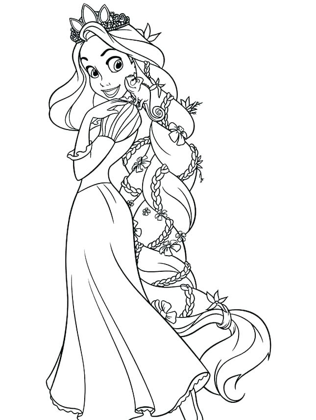 645x856 Rapunzel Coloring Pages Printable Tangled Coloring Pages Free