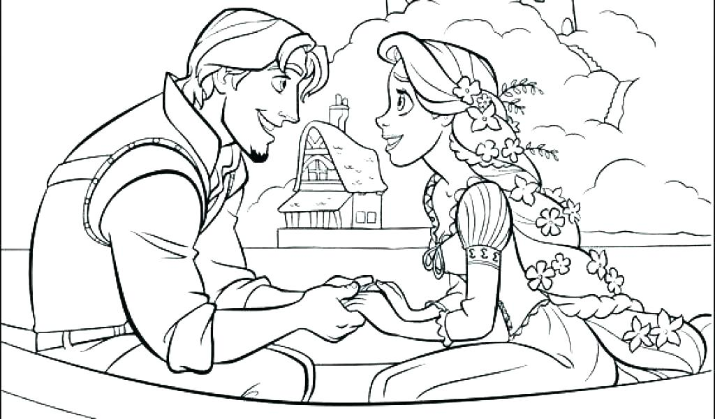 1024x600 Coloring Pages Printable Free Tangled Coloring Page Coloring Pages