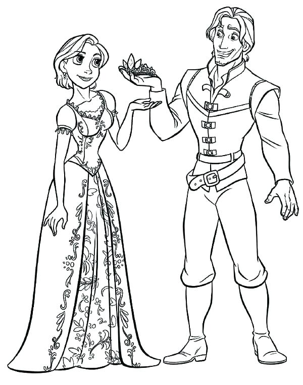 600x762 Coloring Pages Tangled Free Tangled Coloring Pages Tangled