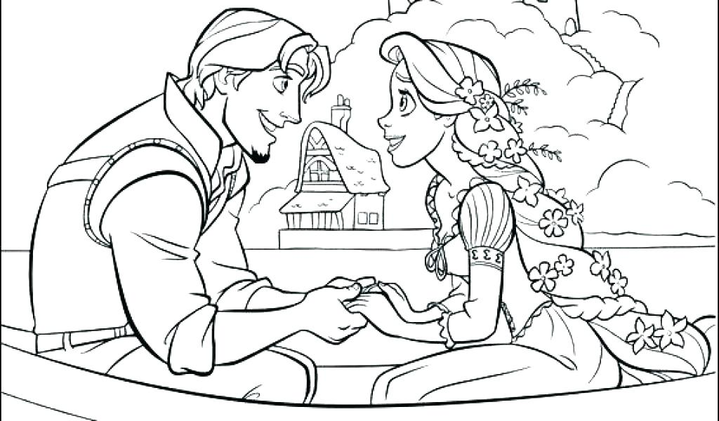Tangled Printable Coloring Pages At Getdrawings Free Download