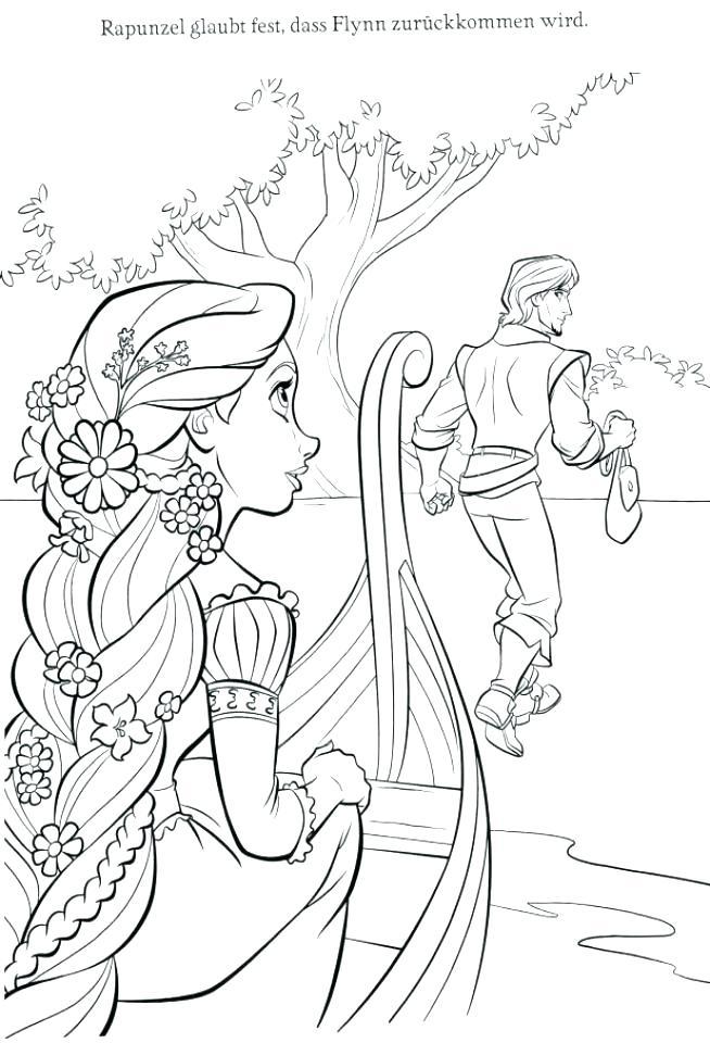 654x960 Rapunzel Color Pages Color Pages Painting Baby Princess Rapunzel