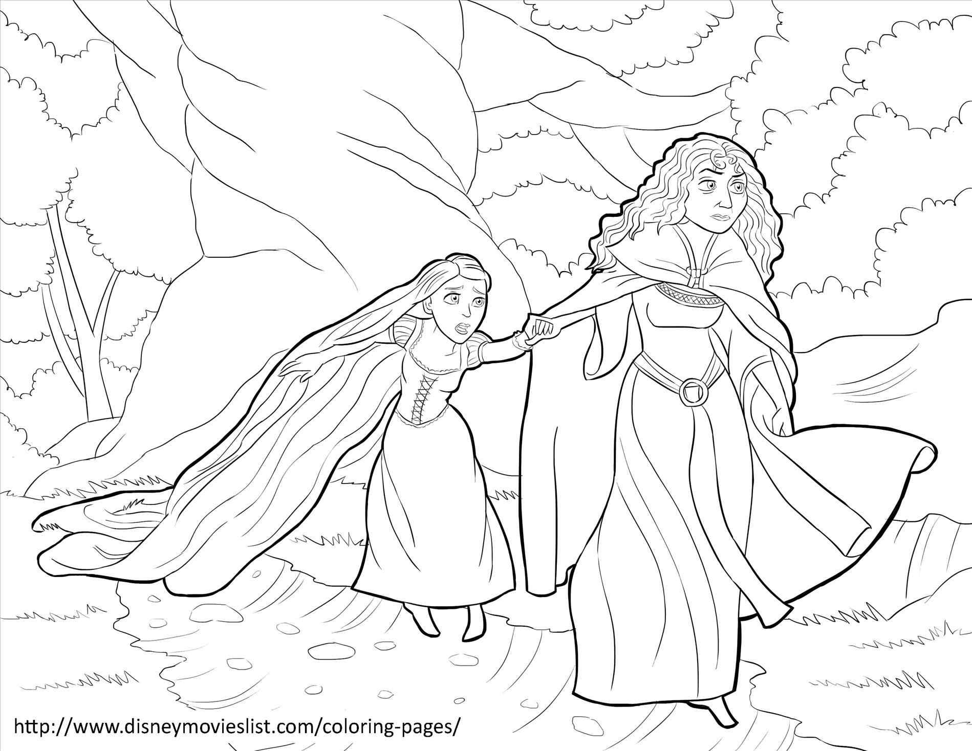 1899x1468 Awesome Collection Of Rapunzel Castle Coloring Pages For Rapunzel