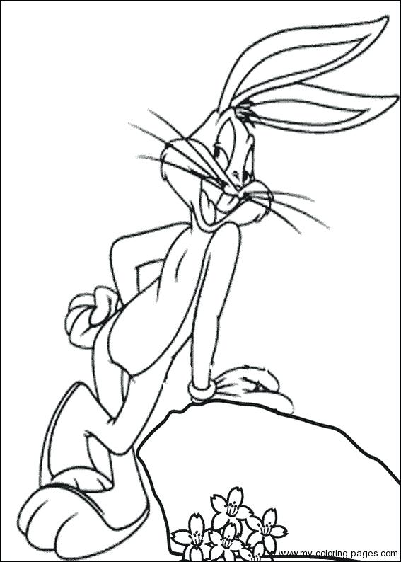 567x794 Bugs Bunny Coloring Page Bugs Bunny Coloring Pages Bunny And Bugs
