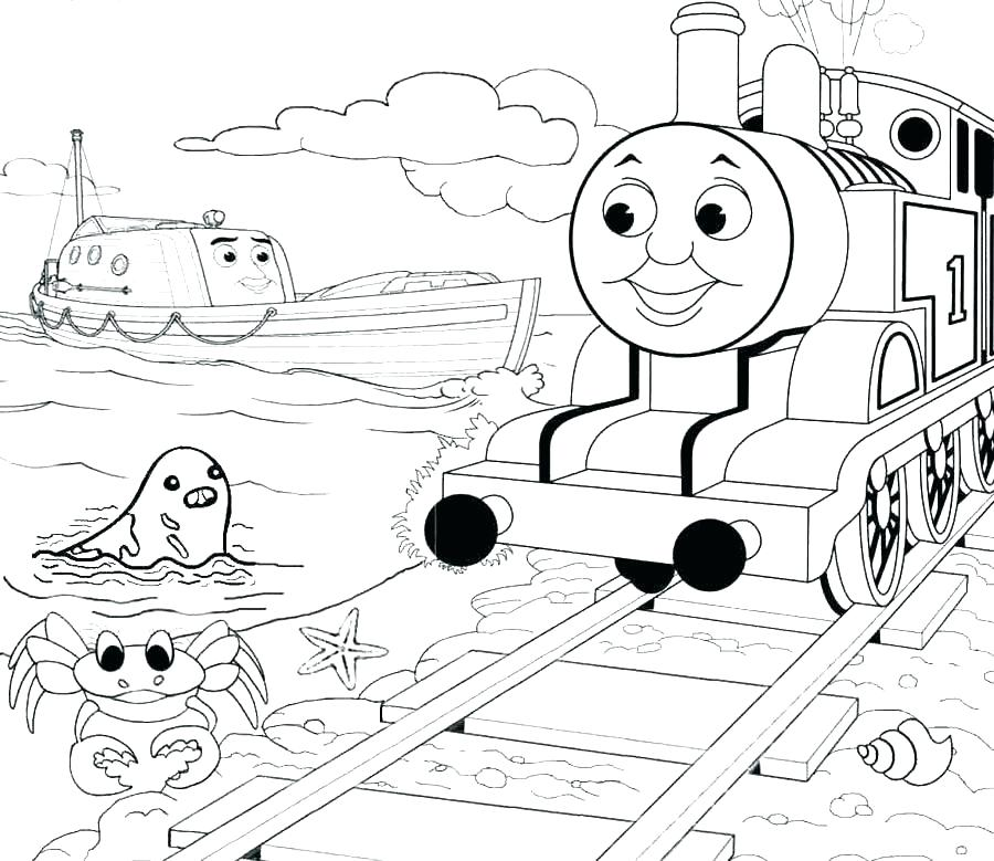 900x779 The Tank Coloring Pages The Tank Engine Train Coloring Thomas
