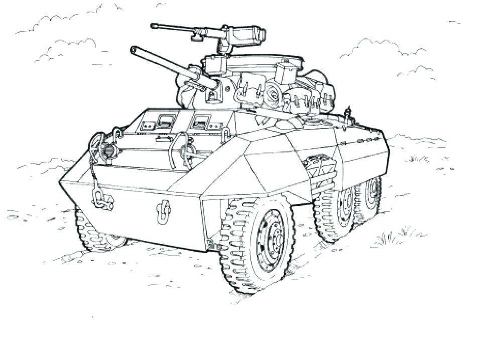 960x677 Coloring Pages Army Army Tank Coloring Page Army Tank Coloring