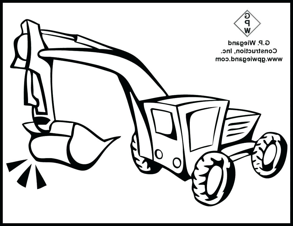 940x726 Construction Coloring Pages With Construction Coloring Pages