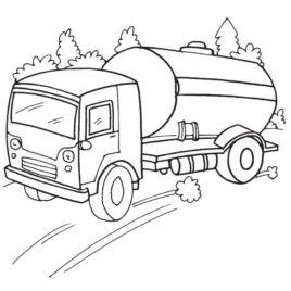 268x268 Speedy Oil Tanker Coloring Page Download Free Speedy Oil Tanker