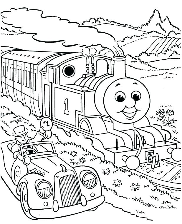618x762 Tank Coloring Page The Tank Engine Coloring Page Copy Train
