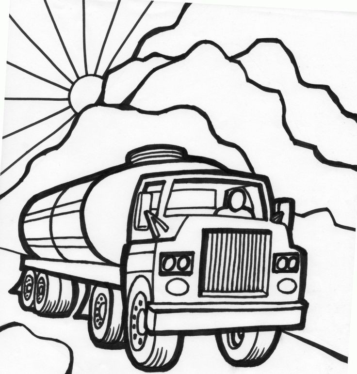 736x772 Tanker Truck Coloring Pages Lovely Army Truck Coloring Pages