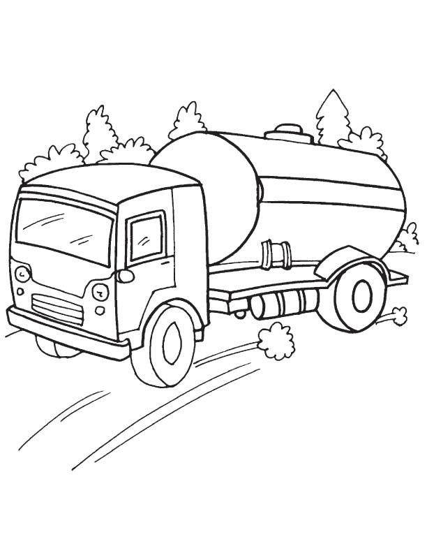 612x792 Oil Tanker Coloring Page Download Free Speedy Oil Tanker Coloring