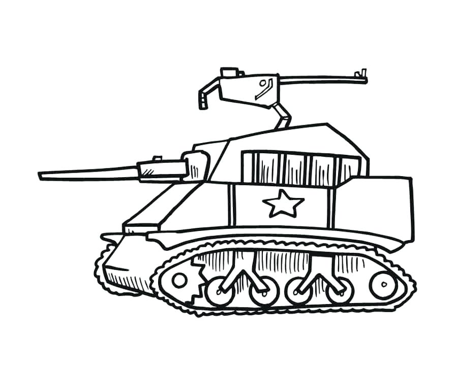 893x727 Army Truck Coloring Pages Unique Comics Animation Military Tank