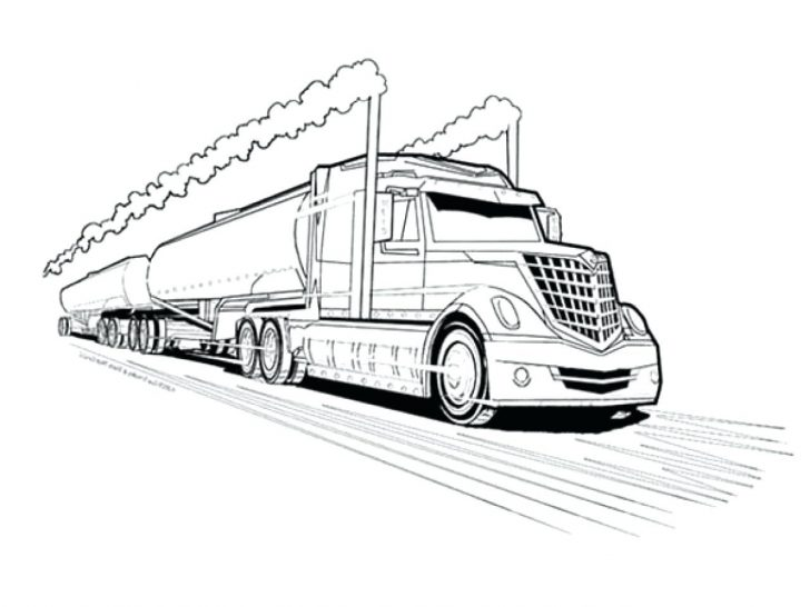 728x546 Coloring Pages Christmas Disney Truck Download Free Vector Logging