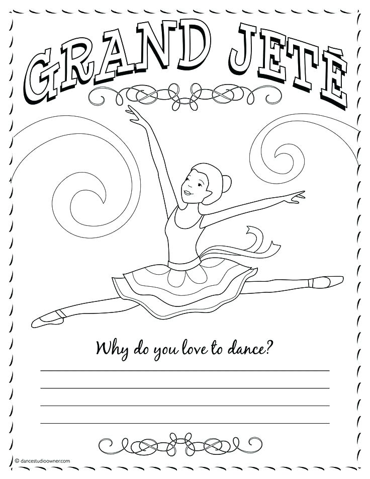 736x952 Dance Coloring Pictures Dance Coloring Sheets Tap Dance Coloring
