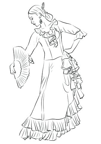339x480 Tap Dance Coloring Pages Free Ideas Dancer Or Color And Click