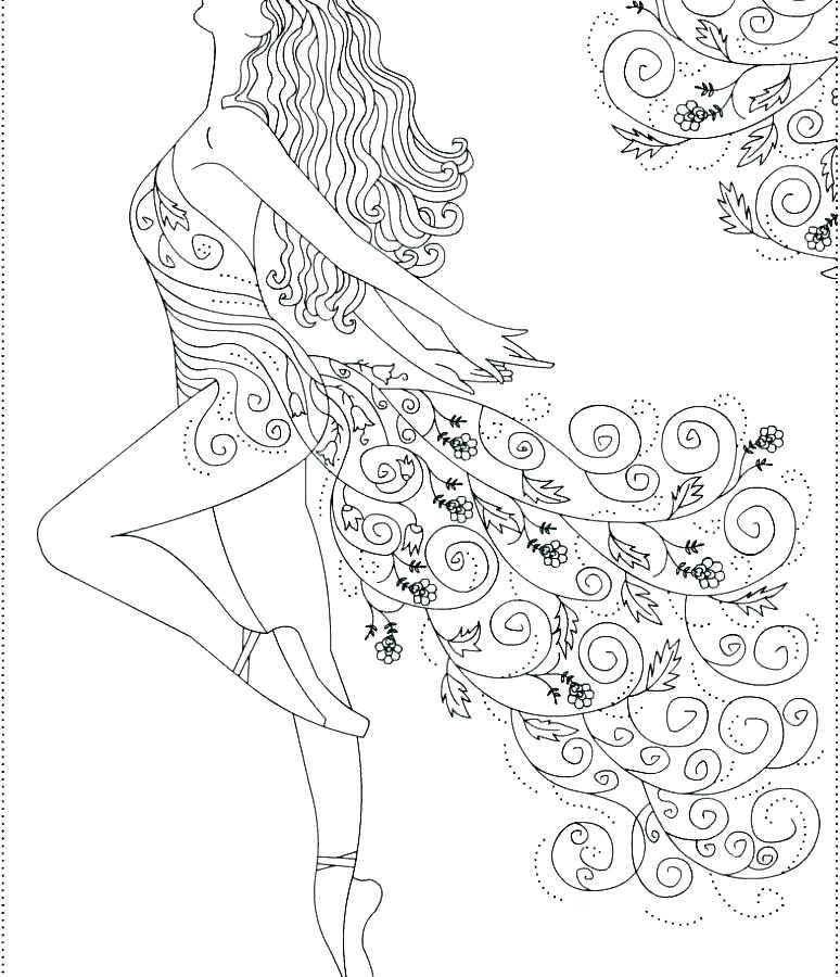 774x900 Dance Coloring Pages