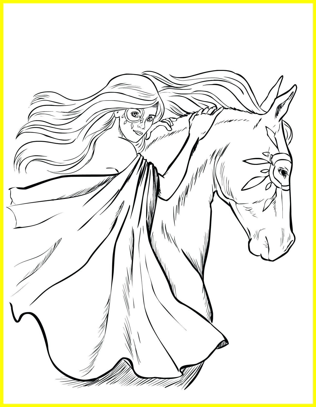 1301x1676 Stunning Inspirational Horse Coloring Pages Printable Target Pics