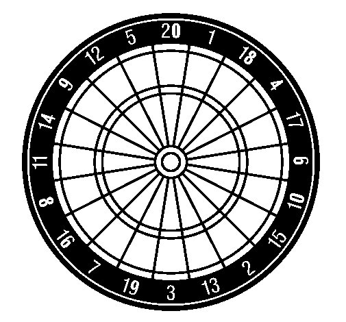 505x470 Target Ii Coloring Page