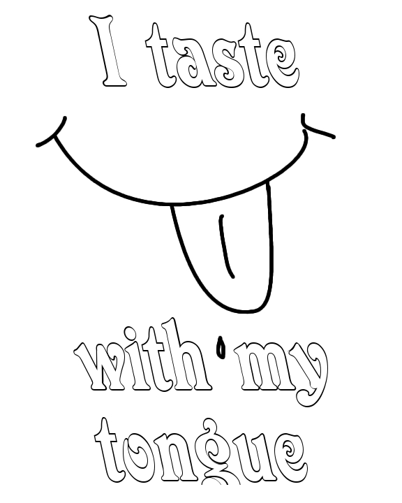 576x720 Best Photos Of Taste Coloring Page