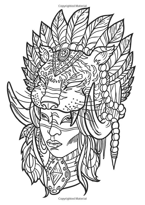 564x797 The Tattoo Designs Creative Colouring For Grown Ups