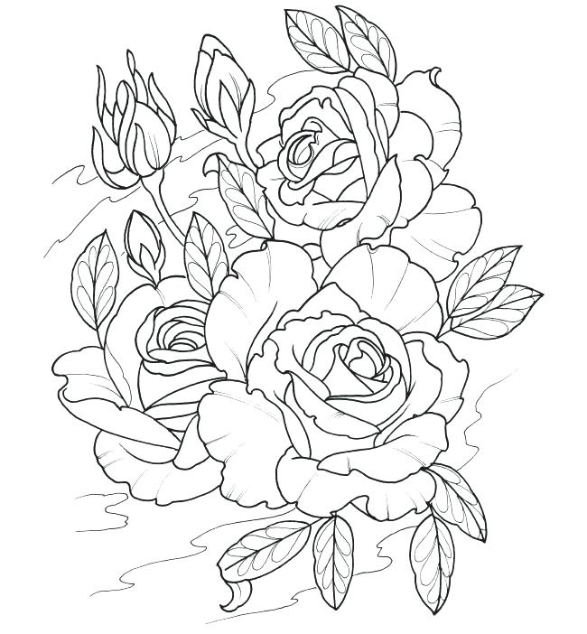 650x702 Tattoo Coloring Sheets