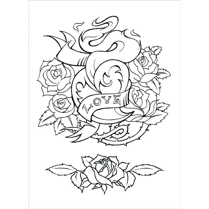 687x687 Tattoos Coloring Pages Tattoo Coloring Pages Tattoo Coloring Pages