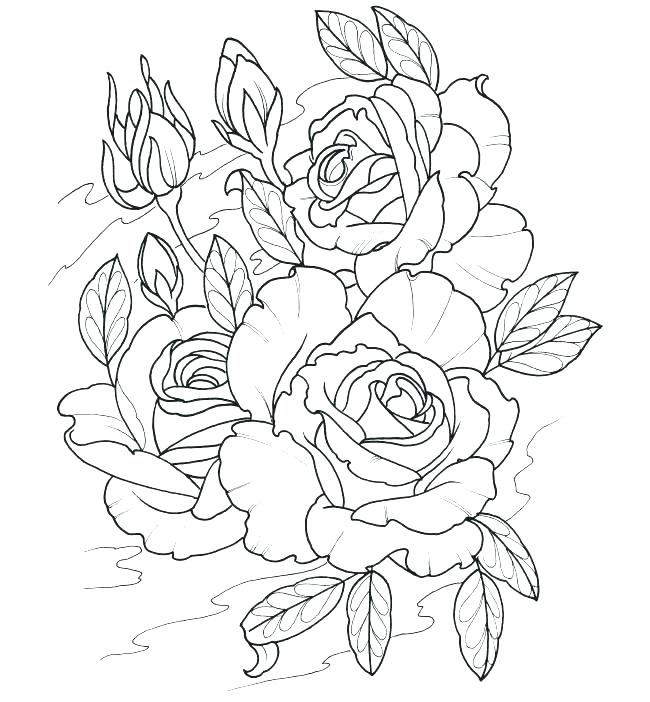 650x702 Tattoo Coloring Pages Printable Sheets Adult Page To Print