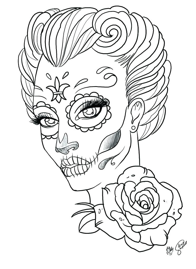 745x1024 Free Printable Tattoo Coloring Pages For Adults Tattoo Coloring