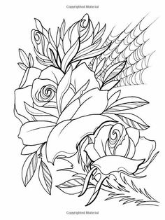 Tattoo Design Coloring Pages