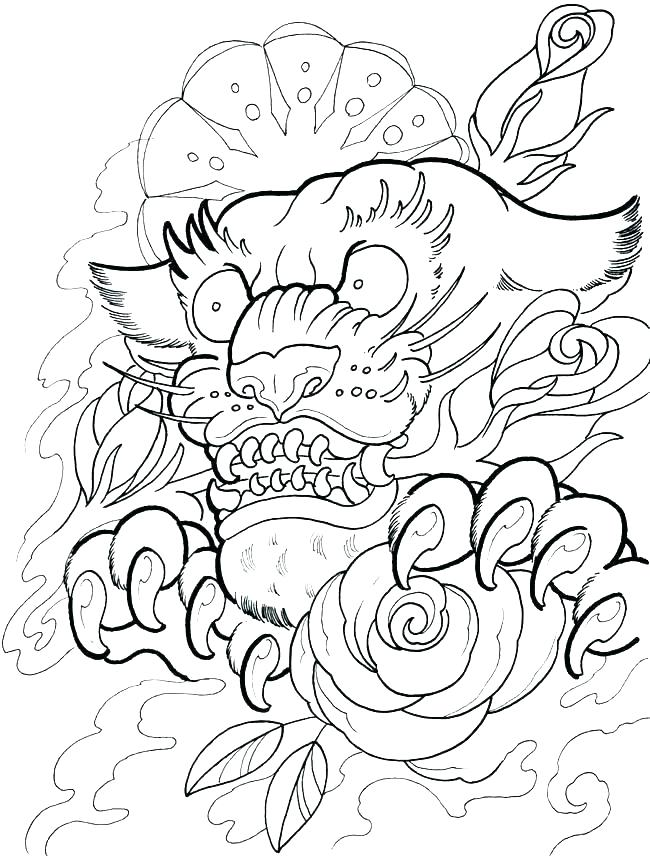 650x856 Design Coloring Pages Coloring Pages Tattoo Designs Modern Art