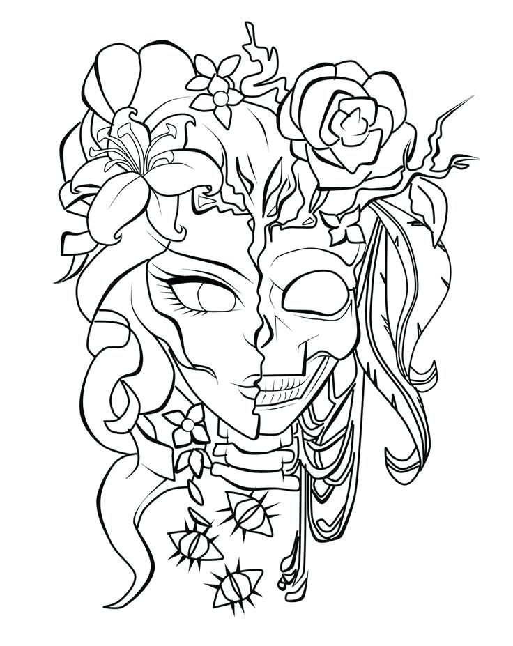 736x927 Free Tattoo Coloring Pages Unique Color Sheets Ideas On Free