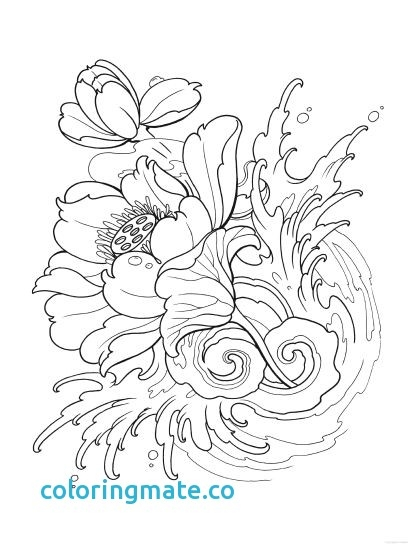 410x547 Tattoo Design Coloring Pages Alluring Tattoo Coloring Pages Luxury