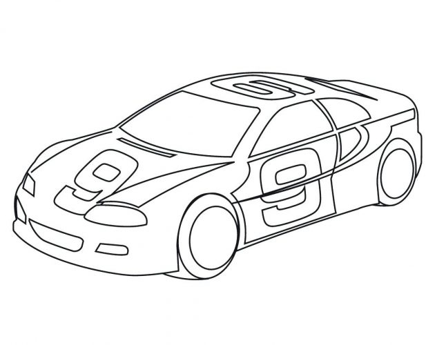646x500 Coloring Pages Car Coloring Page Taxi Driver Fine Preschool Race
