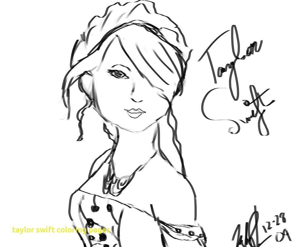 979x816 Mesmerizing Coloring Pages Taylor Swift
