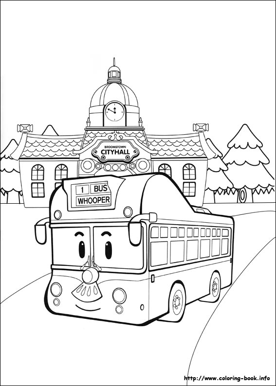 Tayo Coloring Pages At Getdrawingscom Free For Personal Use Tayo