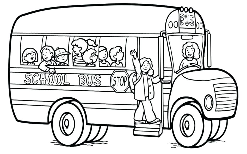 948x593 Bus Coloring Pages Large Size Of Magic School Bus Coloring Pages