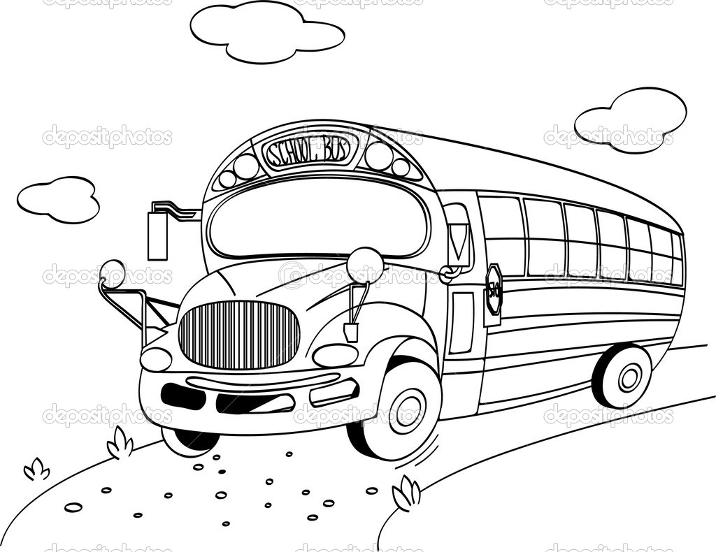 1024x790 Magic School Bus Coloring Pages