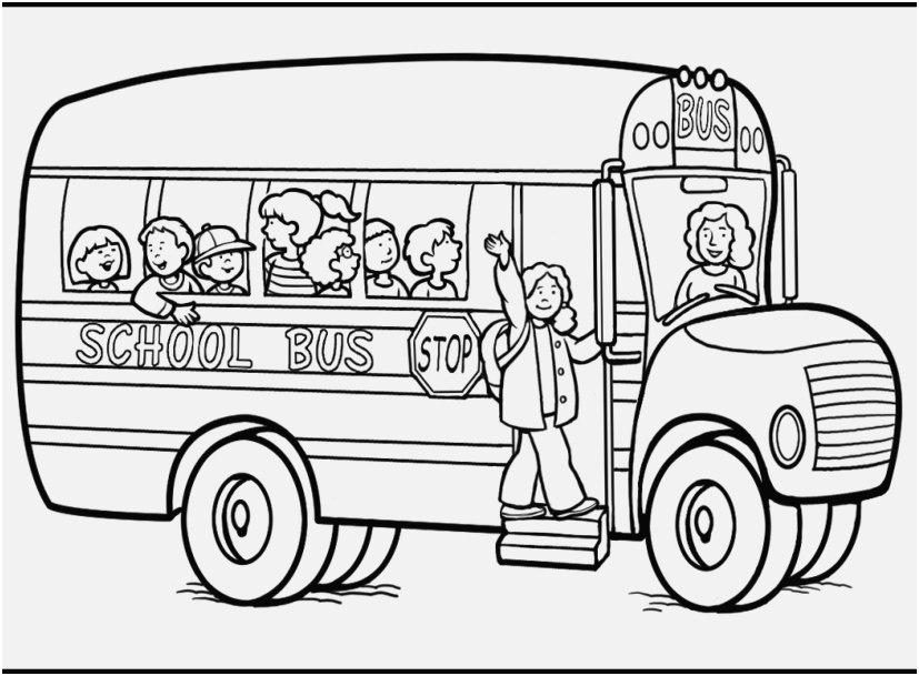 827x609 Magnificent Bus Coloring Pages Vignette