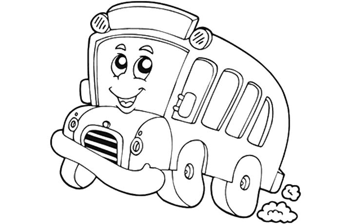 720x460 Tayo The Little Bus Coloring Pages Google Twit Sketch Coloring Page