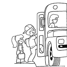 230x230 Top Free Printable School Bus Coloring Pages Online