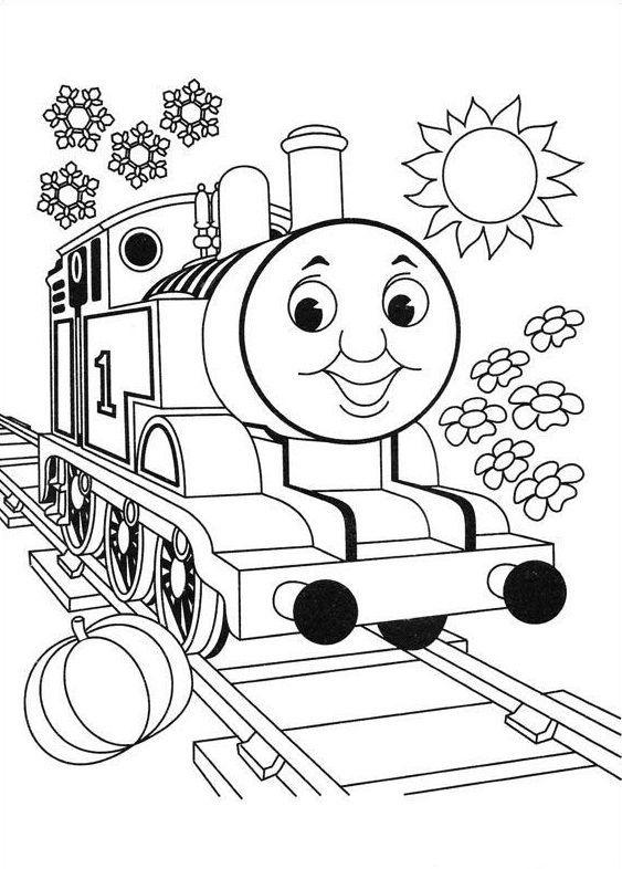 563x786 Top Free Printable Thomas The Train Coloring Pages Online